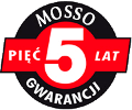 Mosso pięć lat gwarancji