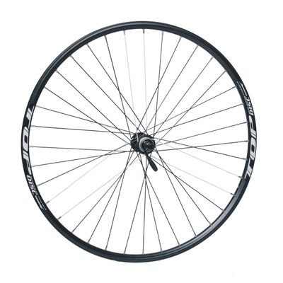 "FRONT WHEEL REMERX TOP DISC 28""-29"" HUB SHIMANO ACERA- HBRM66 (Dick mounting :Center lock) 36-holes BlackcolourOP"