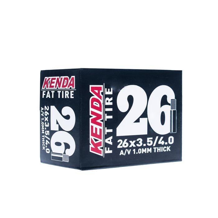 "TUBE "" KENDA MOLDED 26""x 3,5-4,0 (86/98-559)  VALVE : AUTO VALVE  AV-35mm"