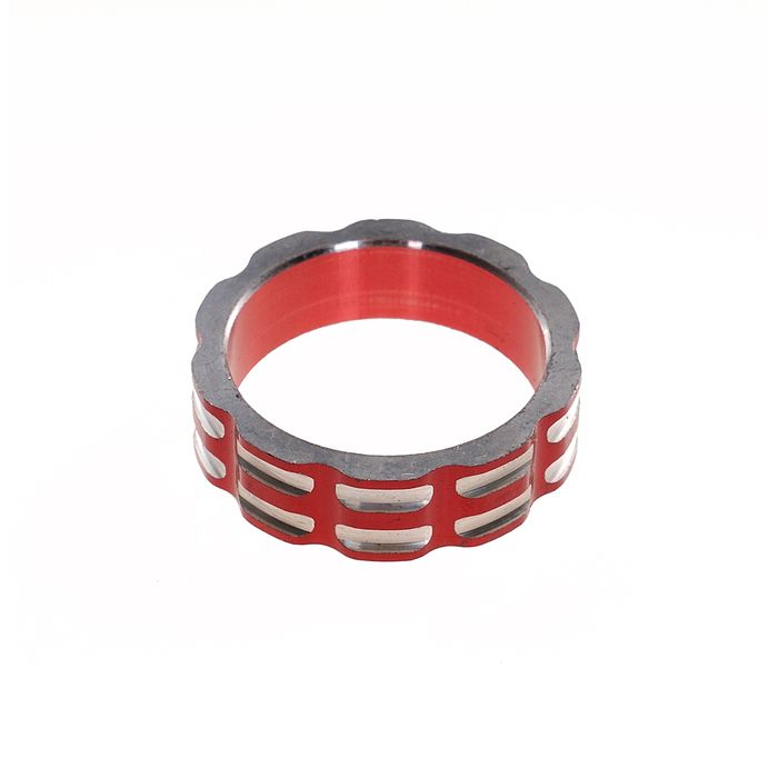 "DISTANCES SPACER  FOR CONTROLLERS 1 1/8""-10mm RED"