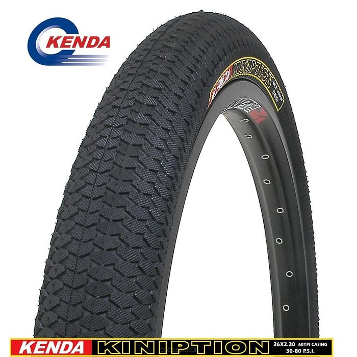 """OPONA KENDA """"K1016""""-KINIPTION-20x2.10-CZARNA"""