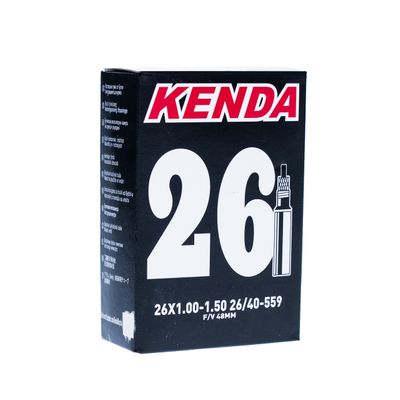 TUBE KENDA MOLDED 26x1.00-1.50  VALVE : SV - PRESTA-48mm