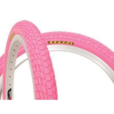 "TIRE  KENDA ""K-907"" KRACKPOT 20x1.95 - Pink"