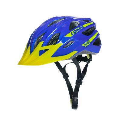 KASK MTB LIMAR 545 Kol.Niebieski /żółty - Rozmiar: L (57-62 cm)