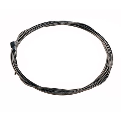 BRAKE CABLE BACK  -STAINLESS - ROAD -2000mm