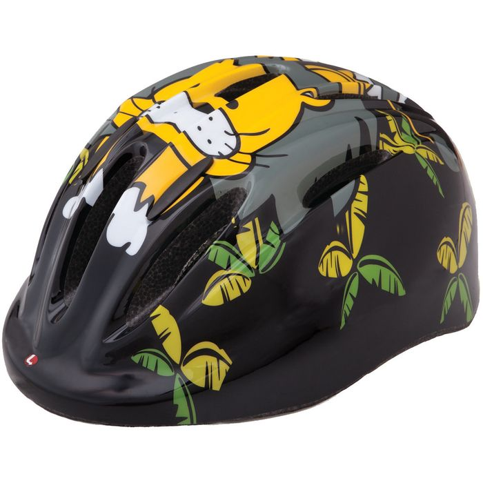 "CHILDREN' S HELMET  ""LIMAR 124"" CZARNY LION -45-54"