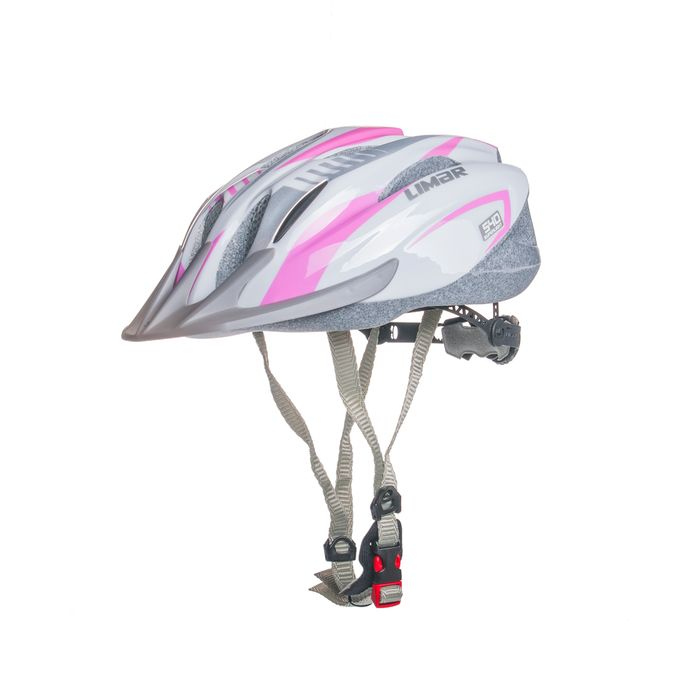HELMET  MTB LIMAR 540 M-(52-57 cm) Superlight WHITE / PINK