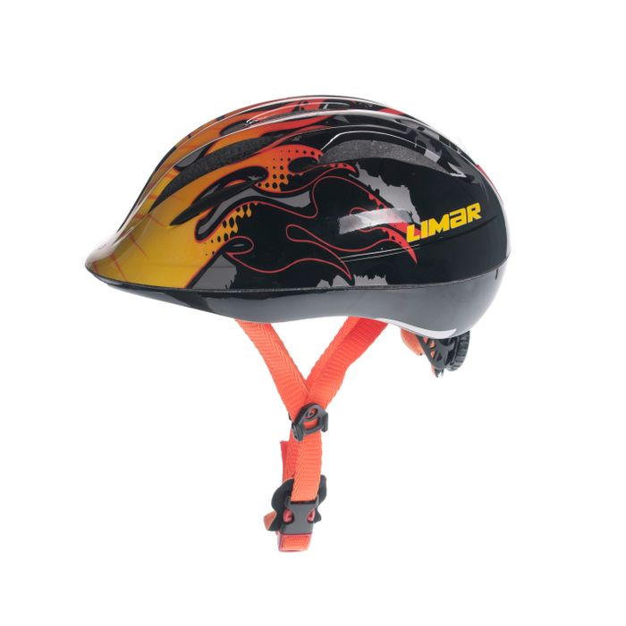 HELMET FOR KIDS LIMAR 242 Col. Red / Yellow / Orange / Flames patern