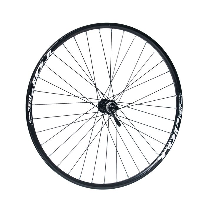 "FRONT WHEEL REMERX TOP DISC 27,5""/650B HUB SHIMANO ACERA HB-RM66 / 36-holes  Black colour"