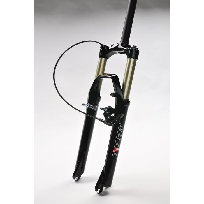 "SUSPENSION FORK  26""RST FIRST 30-PLATINUM-SRL-Black-A"