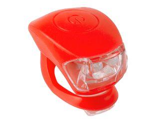 Zestaw Lampek Rowerowych Cobra IV Kol.Czerwony.