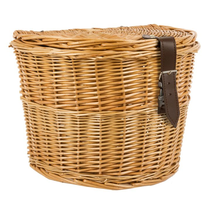 WICKER BASKET MOUNTING ON CARRIER - SIDE