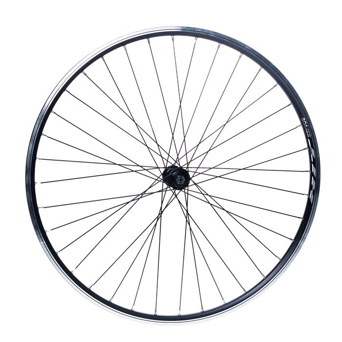 "FRONT WHEEL REMERX HIT 28"" HUB  JOYTECH / 36-holes  Black colour"
