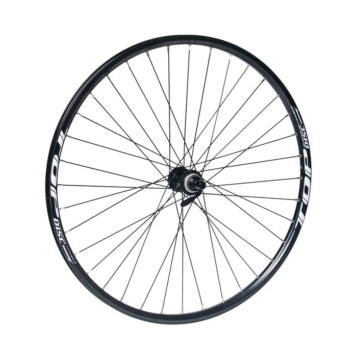 "FRONT WHEEL  REMERX TOP DISC 27,5""/650B HUB SHIMANO DEORE HB-M615 / 36-holes Black colour"