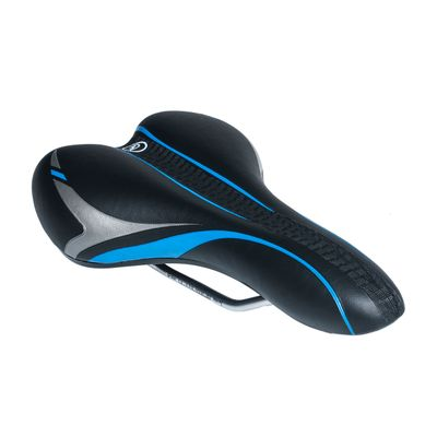SADDLE M-WAVE MOD.6502-29 Black / Blue colour