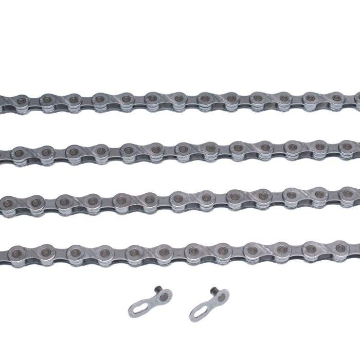 ŁAŃCUCH KMC X9-EPT- 116 ogniw / 9- rzędowy + spinka CL-566R EPT