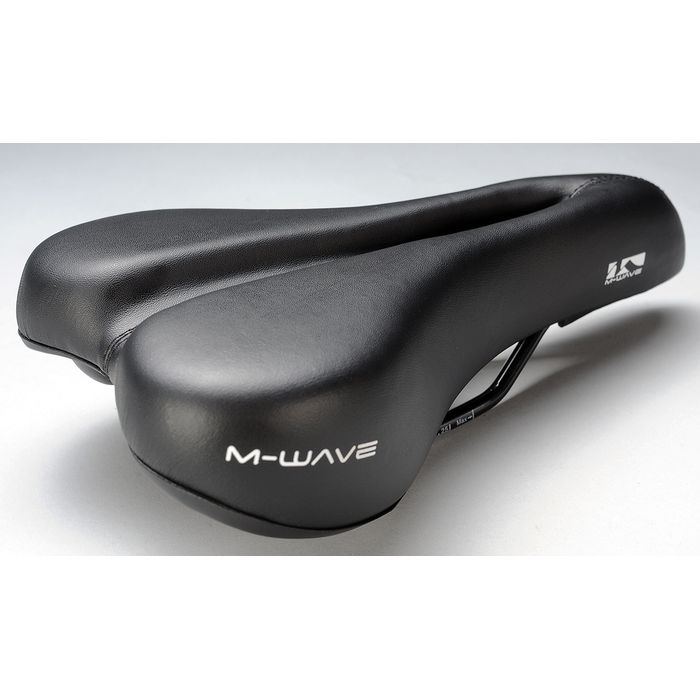 "SADDLE ""M-WAVE"" TOUR II -FULL-CUT -Black"