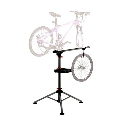 FOLDABLE UNIVERSAL WORKSTATION FOR BIKE  ALUMINUM  MAX LOAD .45 kg