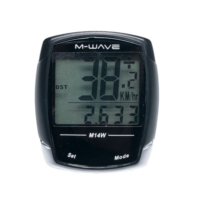 "BICYCLE COMPUTER  ""M-WAVE"" 14 WIRELESS"