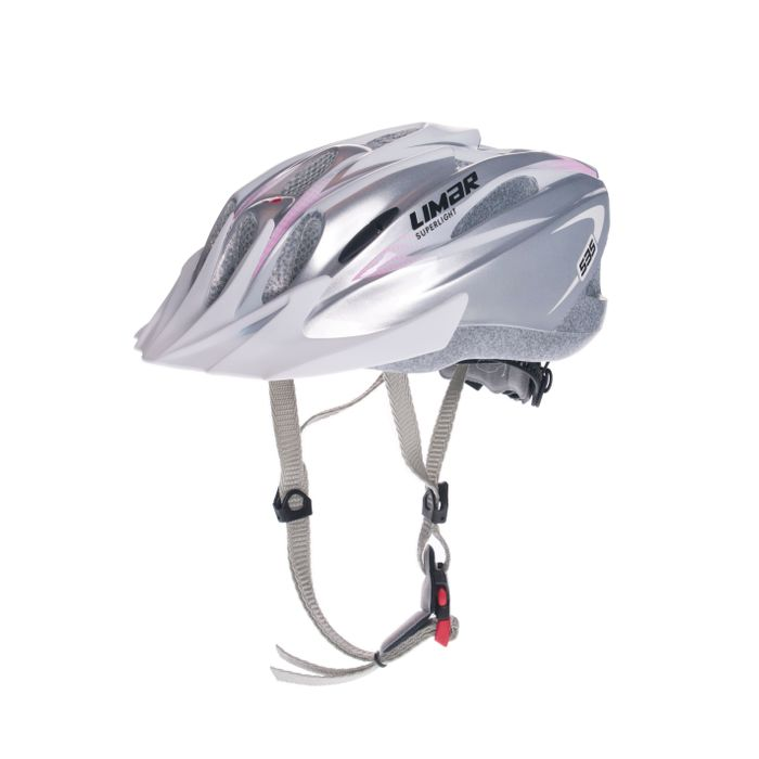HELMET LIMAR MTB 535 SUPER LIGHT Col. Silver / White / Pink