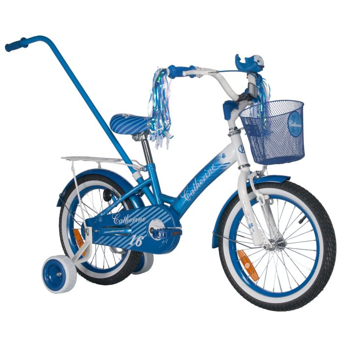 "CHILDREN""S BICYCLE CATHERINE 16"" Col Blue/ White"