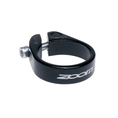 SEAT TUBE CLAMP  ZOOM -34,9mm NA IMBUS Black colour