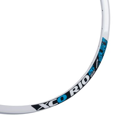 "RIM XCO RIO - 26"" (559x17) - 32 holes, White colour, for DISC BRAKE"