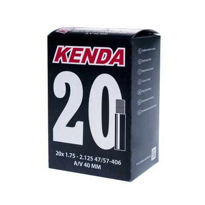 """TUBE """" KENDA MOLDED 20"""" x 1,75 - 2,125 ( 47/57- 406) VALVE : """"AV"""""""