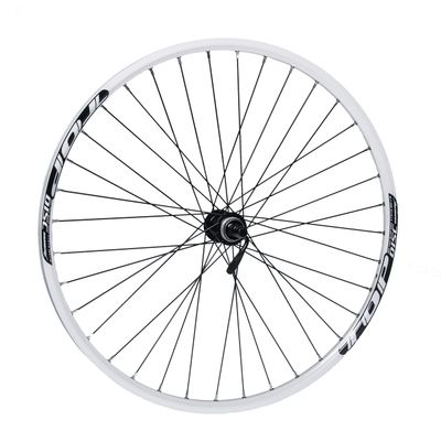"FRONT WHEEL REMERX TOP DISC 27,5""/650B  HUB SHIMANO ACERA HB-RM66 / 36-holes White colour"