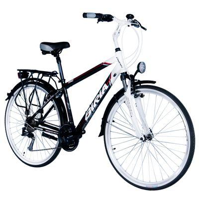 "BICYCLE TREK.MALE BIRIA-ALTUS/ALIVIO 3x8-HAM.V-BRA - Frame Size: 17"" ( 43 cm)"