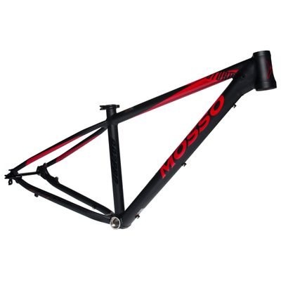 "FRAME MTB-29"" MOSSO MOD.992 PRO Col. Black Mat / Red - Size: 15,5"""