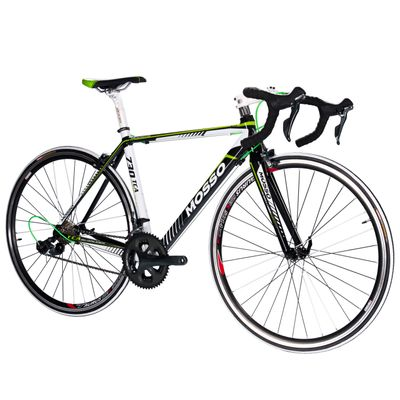 ROAD BICYCLE MOSSO 730TCA SHIMANO TIAGRA 2x10 Black / White / Red Line