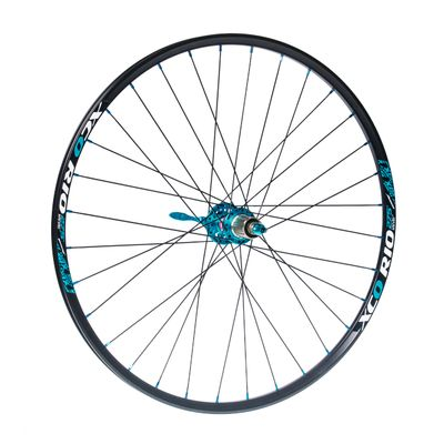 "REAR WHEEL  REMERX  XCO RIO 27,5"" HUB  NOVATEC D772SB ""SUPERLIGHT/ 32 holes Black colour"
