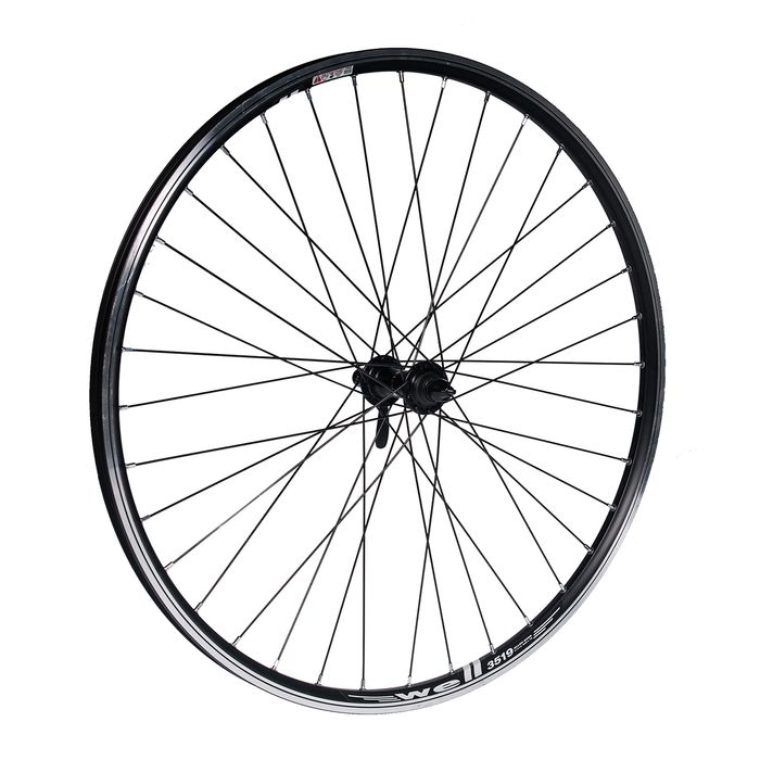 "FRONT WHEEL  26"" P.ACERAFOR CLAMP OB.WELL BLACK"