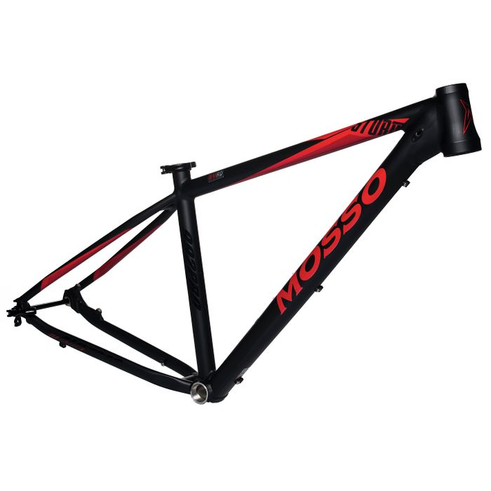 "FRAME MTB-29"" MOSSO MOD.992 PRO Col. Black mat / Red mat"