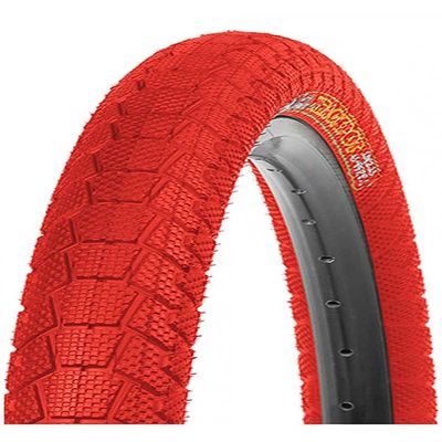 "TIRE  KENDA ""K-907"" KRACKPOT 20x1.95 - Red"