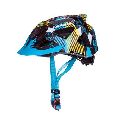 KASK MTB LIMAR X-MTB Kol. Czarny mat / niebieski mat / żółty mat - Rozmiar: M (52-57 cm)