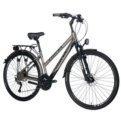 "TREKKING BICYCLE LADIES I ""BIRIA"" ALIVIO-3x9-BRAKES .PROMAX"