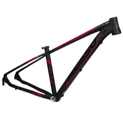 "FRAME MTB-29"" MOSSO MOD.2915 TB Col. Black mat / Red  - Frame Size: 15"" (38 cm)"
