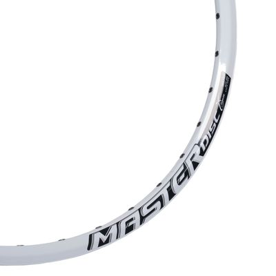 "RIM MASTER DISC - 26"" (559x18) 32- holes, White colour, for DISC KRAKE"