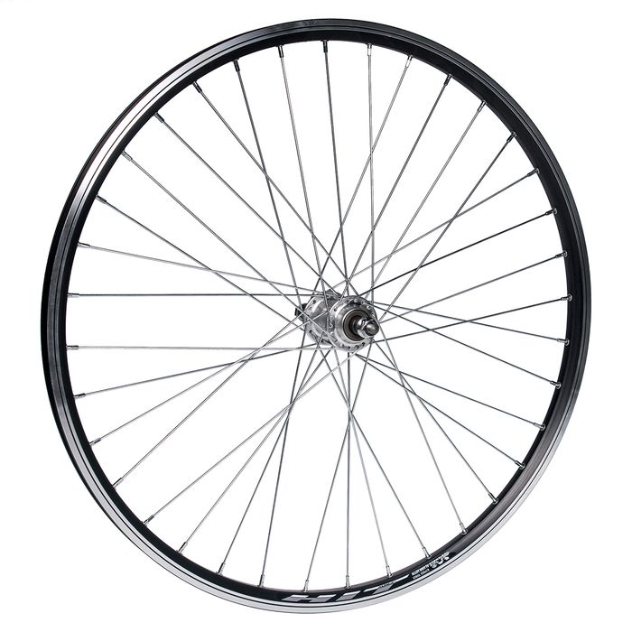 "REAR WHEEL 26"" P.JOYTECH for screw RIM  .HIT BLACK"