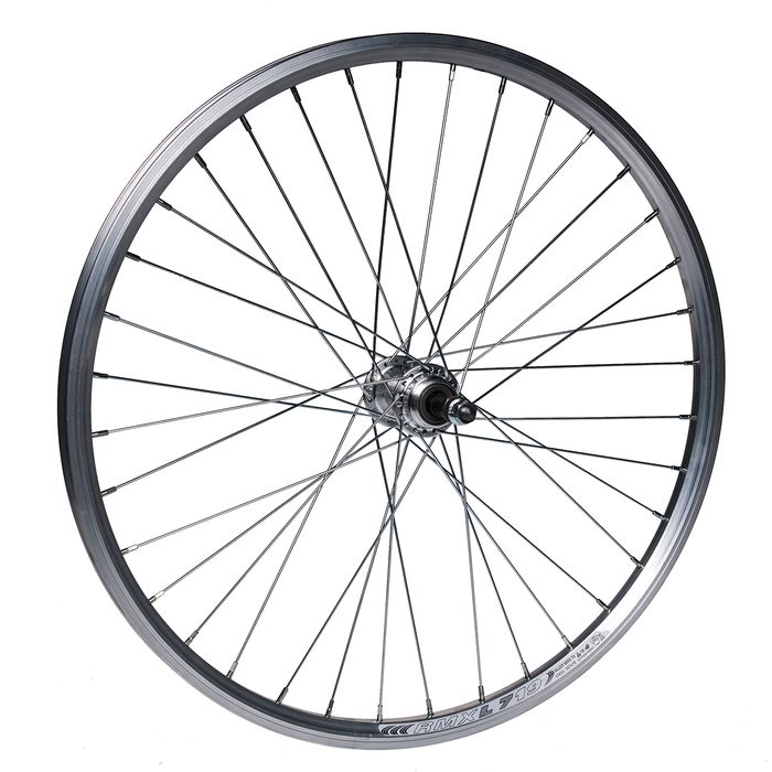 "REAR WHEEL -24"" RIM  REMERX DRAGON L-719 mounting for nuts  - Silver colour"