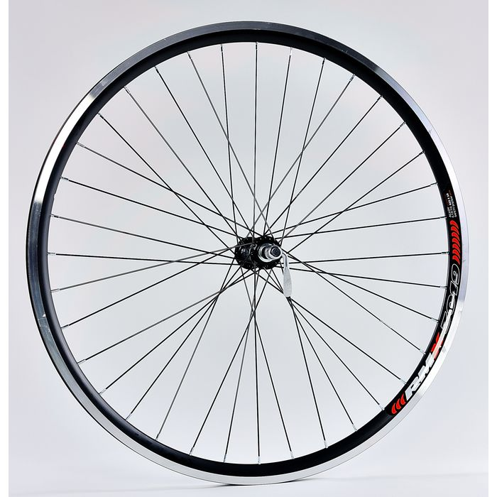 "FRONT WHEEL  28"" RIM  REMERX GRAND ROCK black colour  HUB  SHIMANO-HB-RM40"