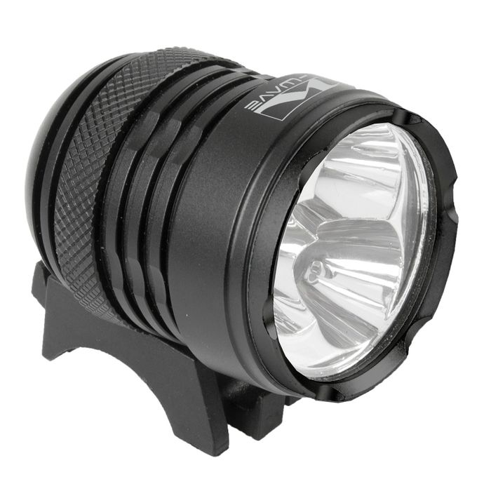 "BATTERY LAMP ""M-WAVE""ULTRA 2500"" - FRONT"