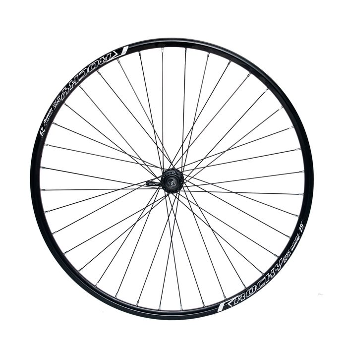 "FRONT WHEEL REMERX ROCKY DISC 28""-29"" HUB SHIMANO XT HB-M775 / 36 holes  BLACK"
