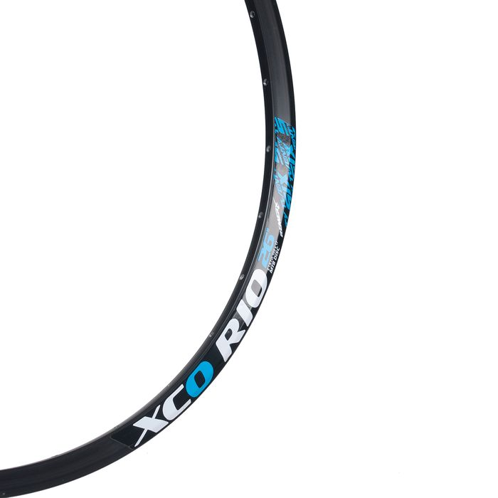 "RIM XCO RIO  - 26"" (559 x 17)  32 holes, Black colour"