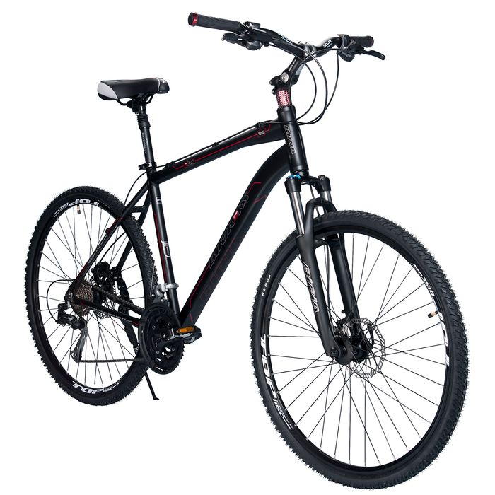 BICYCLE   BIRIA CROSS - SHIMANO ALIVIO -3x 9  HYDRO BRAKES  Matt Black