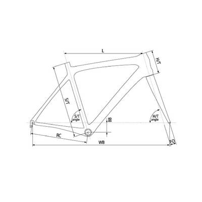 "Geometria ROWER 28"" BIRIA CROSS CARBON - DEORE XT/SLX-3x10"