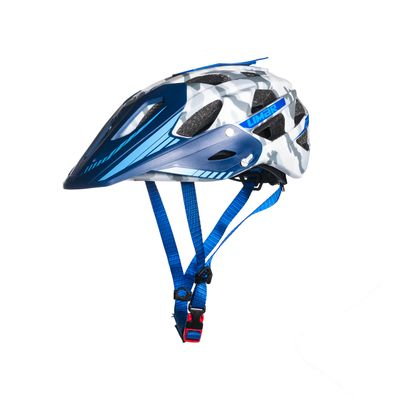 HELMET DIRT I FREE RIDE LIMAR 949DR MATT WHITE / BLUE