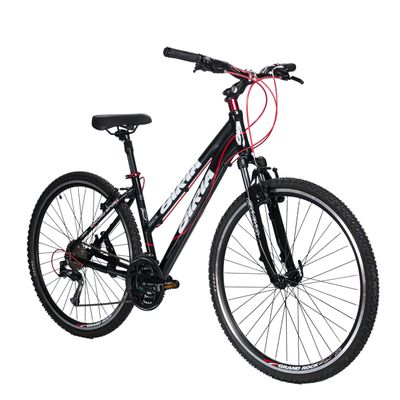 BICYCLE  BIRIA CROSS - ACERA / ALIVIO 3 x 8 Black  / Red Line
